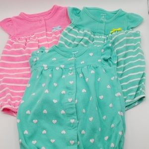2 for $10 Carters Size 6 Month Romper Set